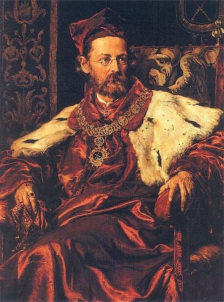 Portret Józefa Szujskiego, Jan Matejko (1886)