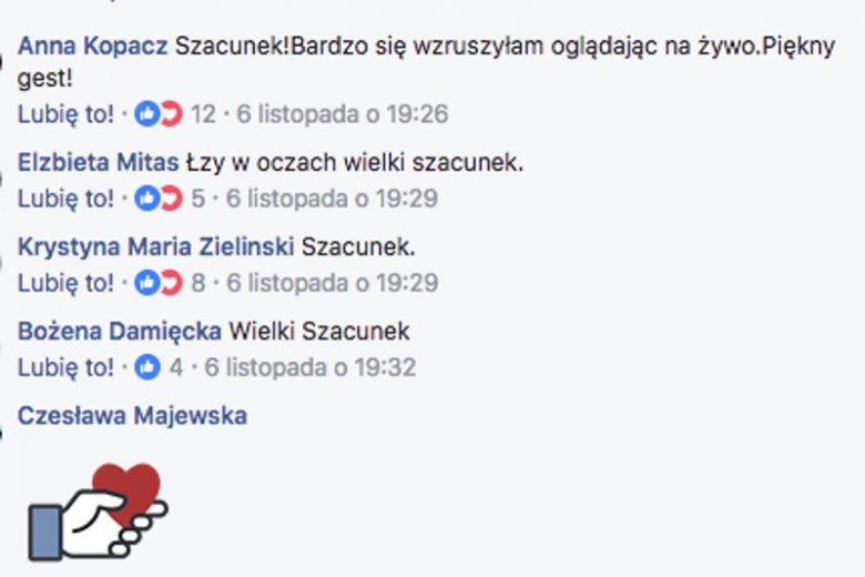 Sympatycy Komitetu Obrony Demokracji bardzo doceniają gest pana Leszka Bojarskiego