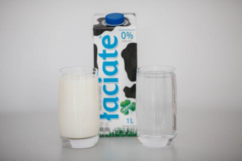 Mleko odtłuszczone ma dokładnie tyle samo wartości odżywczych, co woda.
