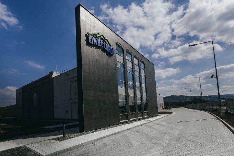 Fabryka Żywiec Zdrój w gminie Radziechowy-Wieprz