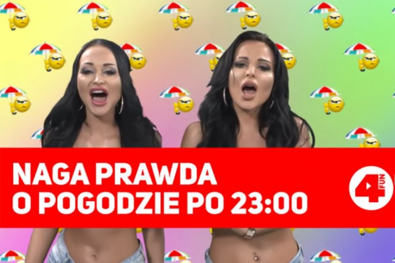 Siostry Godlewskie już wkrótce zadebiutują w autorskiej prognozie pogody na antenie telewizji 4fun Dance. Niektóre audycje poprowadzą... topless.