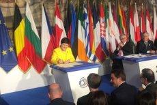 Premier Szydło podpisała deklarację.
