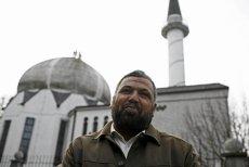 Imam Hani Hraish uważa, że przyczyną pożaru było podpalenie.
