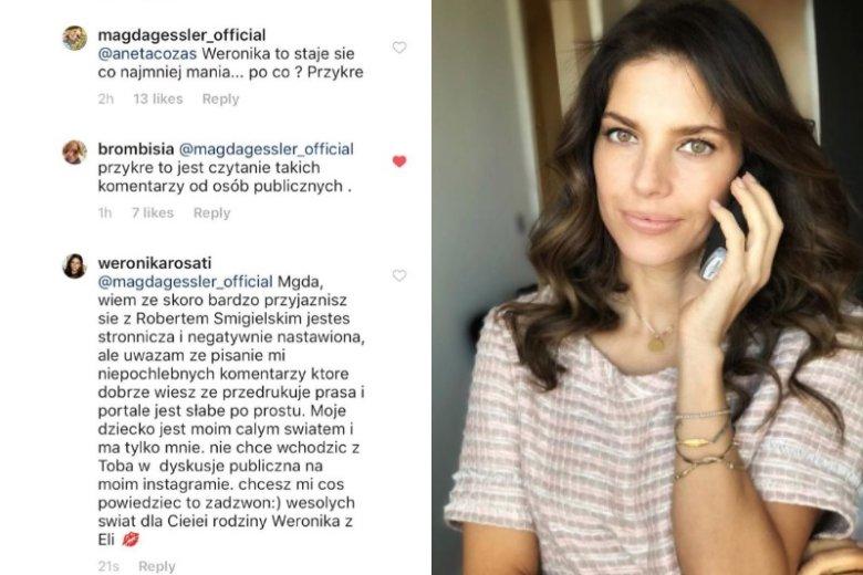 Magda Gessler krytykuje Rosati, bo... przyjaźni się z ojcem jej dziecka?