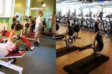 Po lewej: siłownia w 2000 roku. Po prawej: Nowa miejska siłownia CityFit.