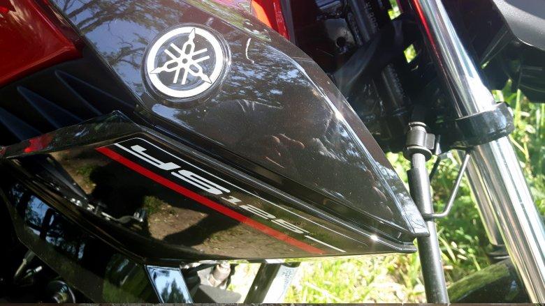 W motocyklu nie ma zbyt wielu plastików. Te co są cieszą oko jakością wykonania.