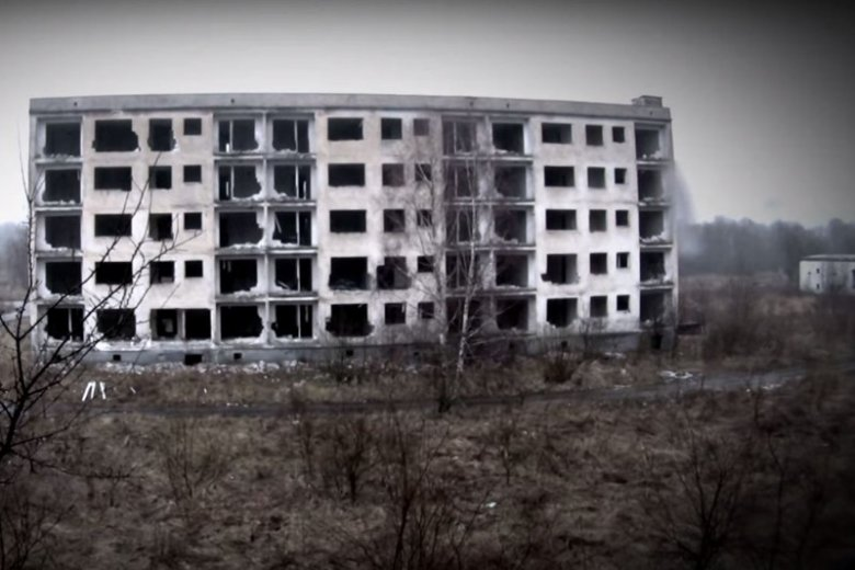 Polskie miasta-widma, przerażają i fascynują jednocześnie. Na zdjęciu: Kłomino.