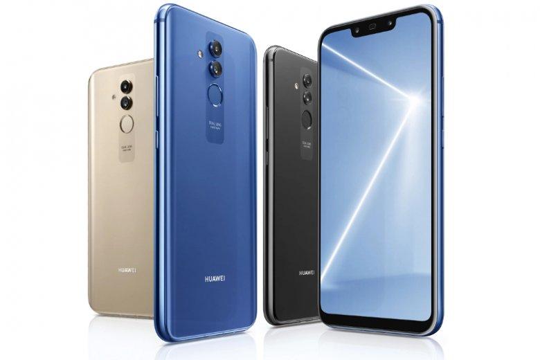 Smartfon dostępny jest w trzech eleganckich, stylowych kolorach: czarnym, niebieskim oraz złotym