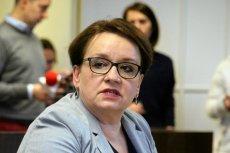 Anna Zalewska wypowiedziała się na temat afery z PCK. Tłumaczyła się m.in... dobrą reformą edukacji.