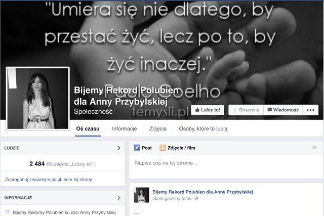 Ktoś chce żerować na śmierci Anny Przybylskiej?