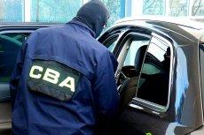 CBA zatrzymało lekarza Roberta F. i biznesmenkę Małgorzatę P.