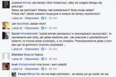 Gdy nazwisko autora doniesienia stało się znane, internauci błyskawicznie odnaleźli go na Facebooku.