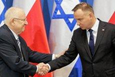 Andrzej Duda i Reuwen Riwlin spotkali się w Auschwitz podczas obchodów 75-rocznicy wyzwolenia obozu zagłady.
