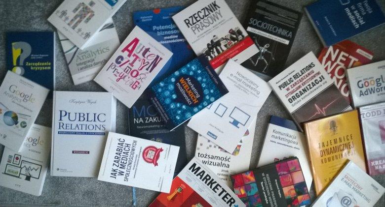 Książki poświęcone tematyce marketingu i pr