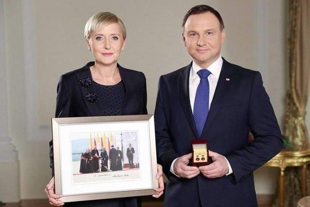 Agata Duda popiera WOŚP. Spełni prośbę Jurka Owsiaka?