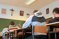 Lekcja religii w jednej ze szkół. Episkopat domaga się wprowadzenia tego przedmiotu na maturze.