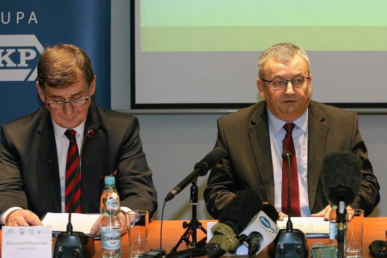 Krzysztof Mamiński i Andrzej Adamczyk podczas spotkania w Zakopanem w kwietniu bieżącego roku.