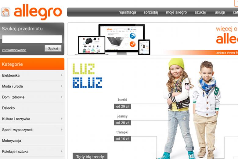 Allegro od kilku godzin zmaga sięz problemami technicznymi.