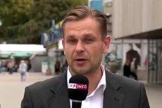 Łukasz Sitek miał wulgarnie grozić policjantom. Jego pracodawca TVP zareagował bardzo szybko.