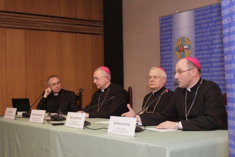 Konferencja prasowa przedstawicieli Episkopatu Polski