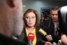 """Kidawa-Błońska: """"Zagłosowałam omyłkowo"""". Chodzi o uchwałę potępiającą """"akty pogardy antykatolickiej""""."""