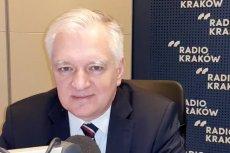"""Jarosław Gowin odpowiedział słowami o """"smażeniu się w piekle """" na wypowiedź Donalda Tuska o współczesnych bolszewikach."""
