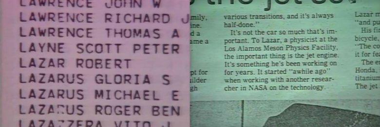 Dziennikarze znaleźli informację o tym, że pracował w Narodowym Laboratorium Los Alamos