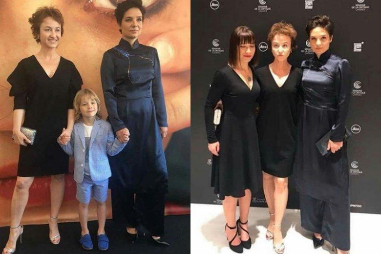 """Ekipa """"Fugi"""" na Festiwalu Filmowym w Cannes. Pojawili się m.in. Agnieszka Smoczyńska, Gabriela Muskała i Iwo Raj"""