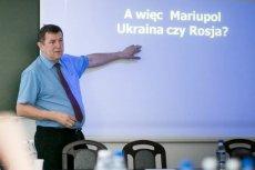 Andrzej Iwaszko jest prezesem Polsko-Ukraińskiego Stowarzyszenia Kulturalnego w Mariupolu.