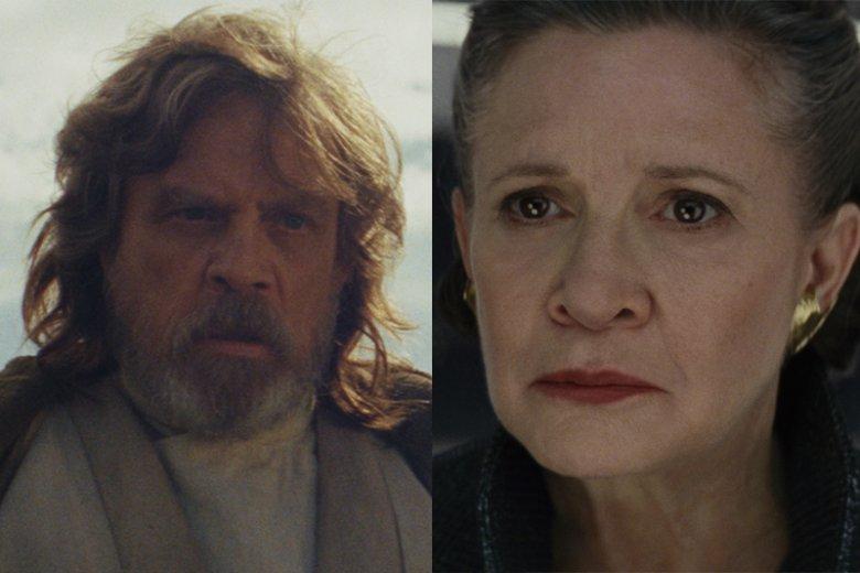 """Kultowe postaci sagi wystąpiły w wielu kuriozalnych scenach. Takich w """"Ostatnich Jedi"""" nie brakuje"""