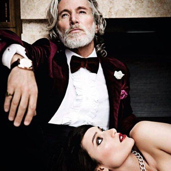 50-letni Brytyjczyk Aiden Shaw od kilku lat pracuje jako model, w 2013 roku pojawił się w kampanii polskiej marki Bytom.