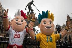 Maskotki Euro 2012 w Gdańsku
