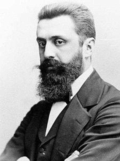 Theodor Herzl - ojciec syjonizmu.