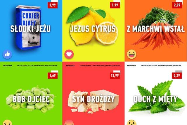 Po wybuchu skandalu z obrażającą uczucia religijne Polaków reklamą Lidla agencja BRANDWEB w ten sposób postanowiła popisać się swoim poczuciem humoru.