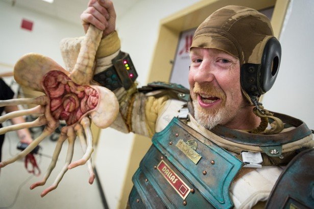 Adam Savage na San Diego Comic Con 2014
