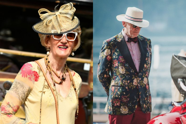 Concorso d'Eleganza to również moda stylizowana na czasy danej epoki.