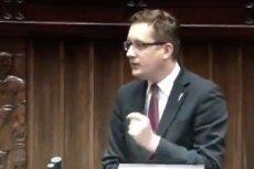 Robert Winnicki zaatakował PiS. Odpowiedział mu marszałek Sejmu Marek Kuchciński pytaniem o tęczowy piątek.
