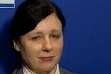 Vera Jourova była zdegustowana pytaniem TVP Info.