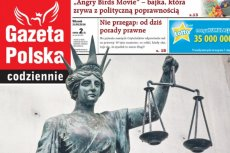 """Najnowsza """"Gazeta Polska Codziennie""""."""