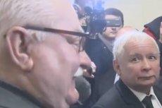 Każde spotkanie Jarosława Kaczyńskiego i Lecha Wałęsy kończy się ostrą wymianą zdań. Podobnie było podczas rozprawy w gdańskim sądzie.
