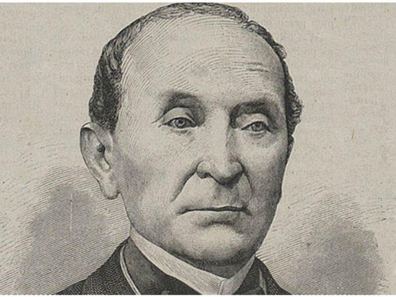 Portret Ignacego Domeyki z okresu pobytu w Chile