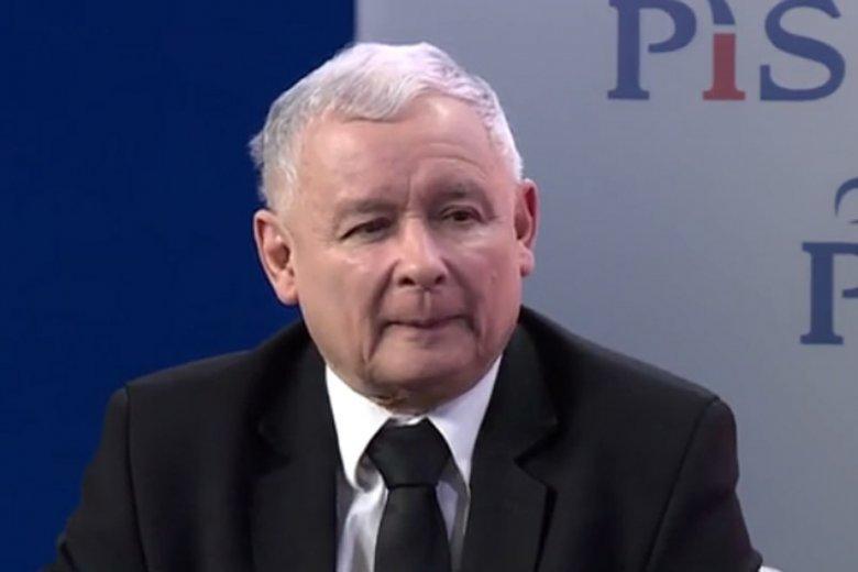 """Jarosław Kaczyński mówi o krytykach swojej wizji Polski per """"element animalny""""."""