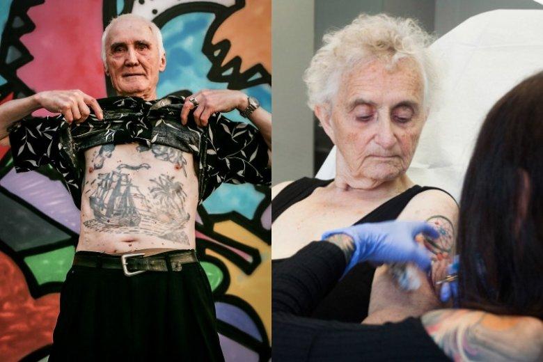 Tatuaże przestają być dla seniorów tematem tabu. Coraz częściej w studiach pojawiają się klienci 60 +