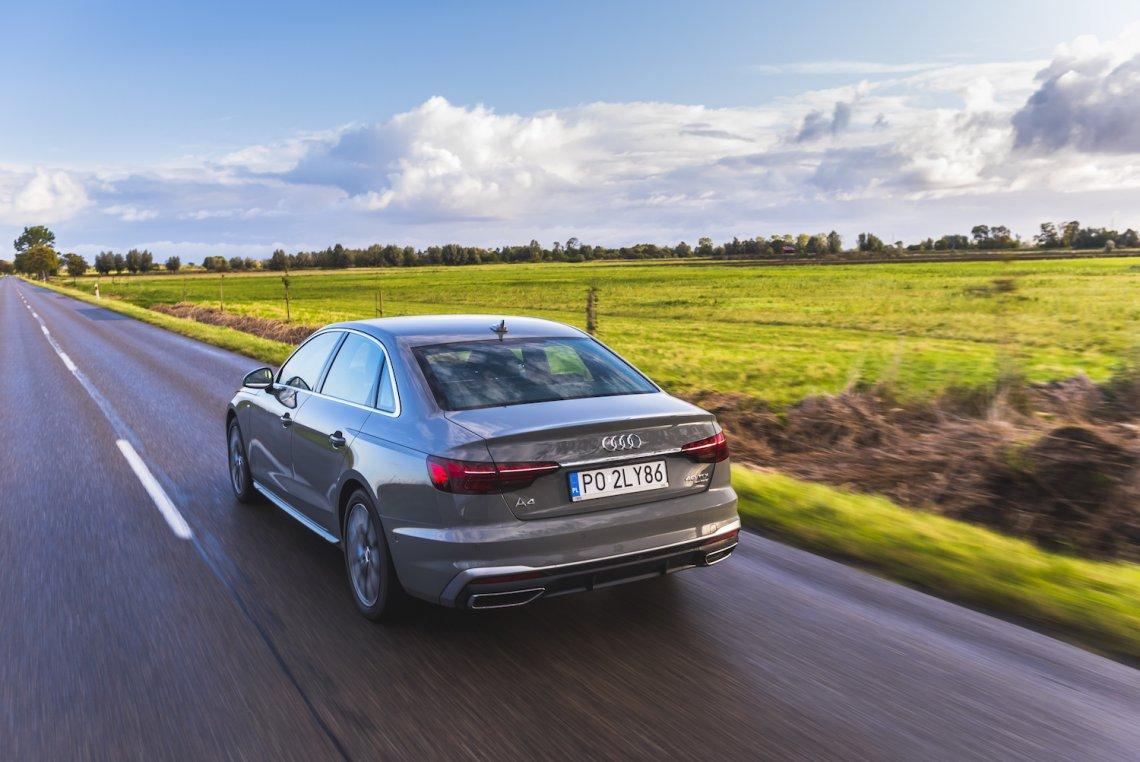 Nowe Audi A4 imponuje stylistyką, sportowym charakterem, technologicznymi rozwiązaniami i komfortem.