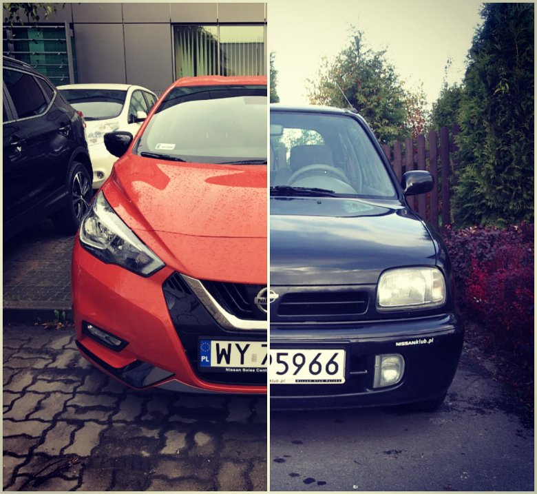 Moja ex - K11 SuperS i nowa Micra K14 - 24 lata różnicy