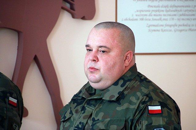 Ppłk Krzysztof Świderski 11 lipca objął dowództwo nad 14. Suwalskim Dywizjonem Artylerii Przeciwpancernej.