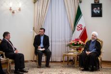 Spotkanie ministra niemieckiej gospodarki i prezydenta Iranu