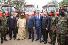 Ursus to jedna z tych firm, która robi w Afryce interesy.