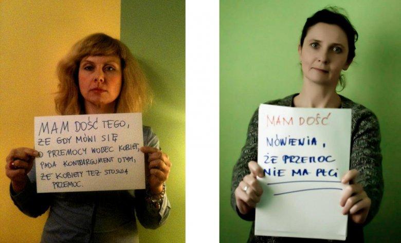 Ewa Rutkowska i Joanna Piotrowska z Fundacji Feminoteka