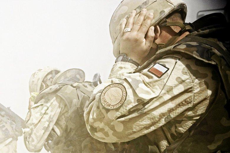 Znalezione obrazy dla zapytania żołnierze ptsd